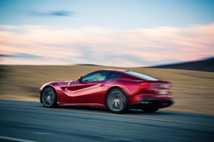 2014 Ferrari F12 Berlinetta Rear Three Quarter In Motion