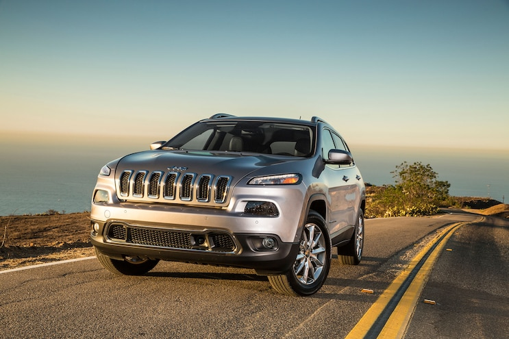 2014 Jeep Cherokee Limited Front Three Quarters