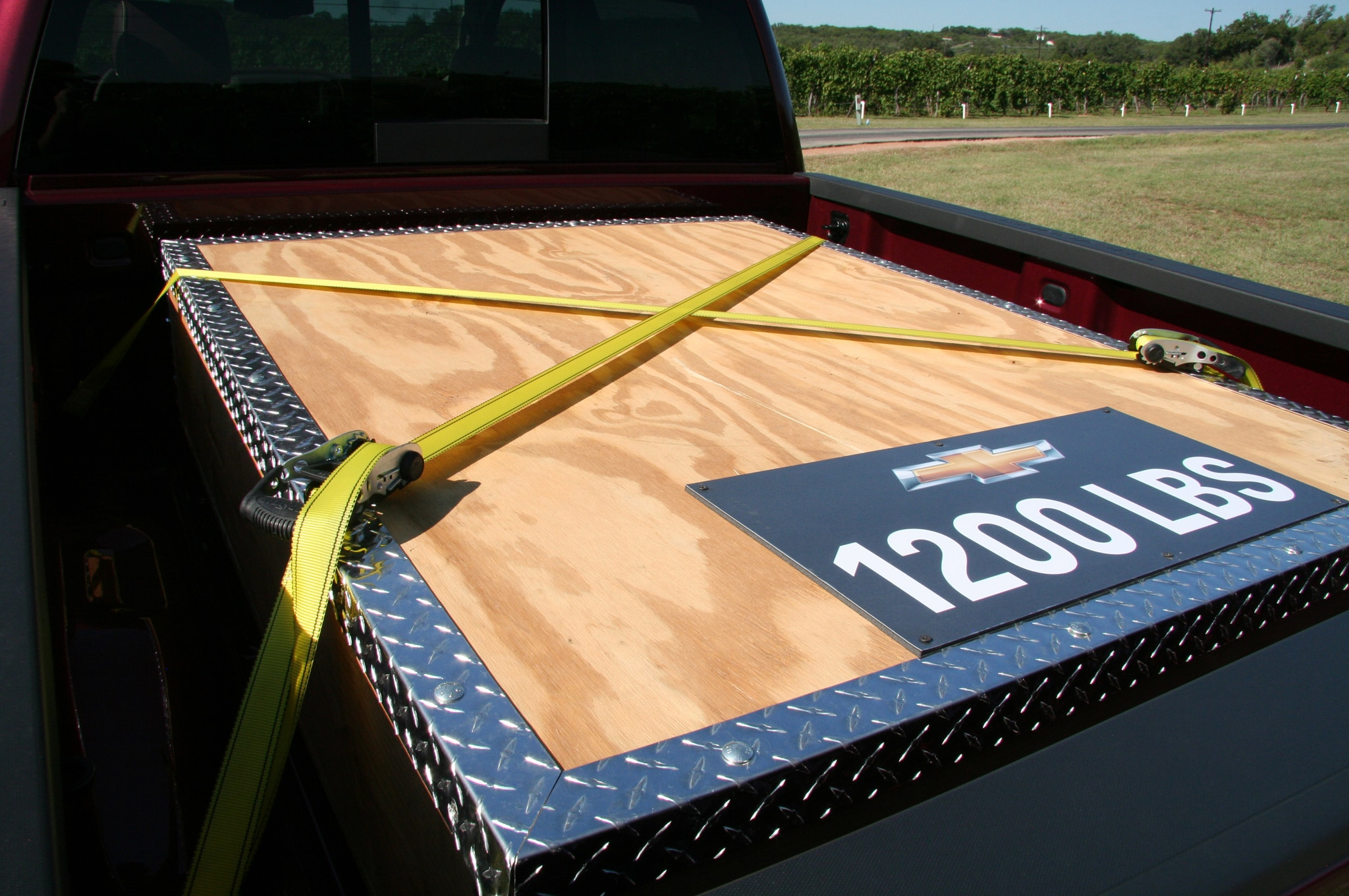 2014 Chevrolet Silverado Bed View