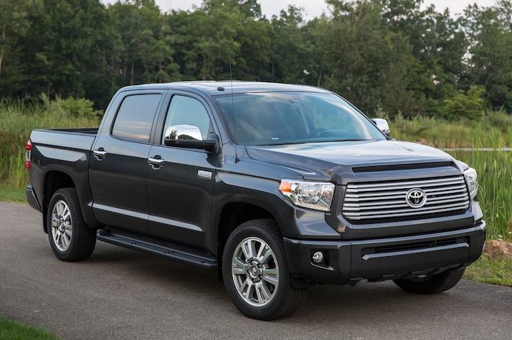 2014 Toyota Tundra Platinum Front