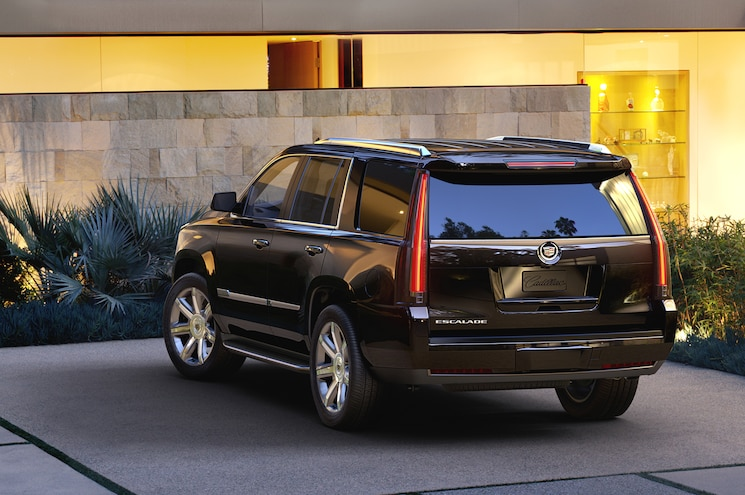 2015 Cadillac Escalade Rear Three Quarters