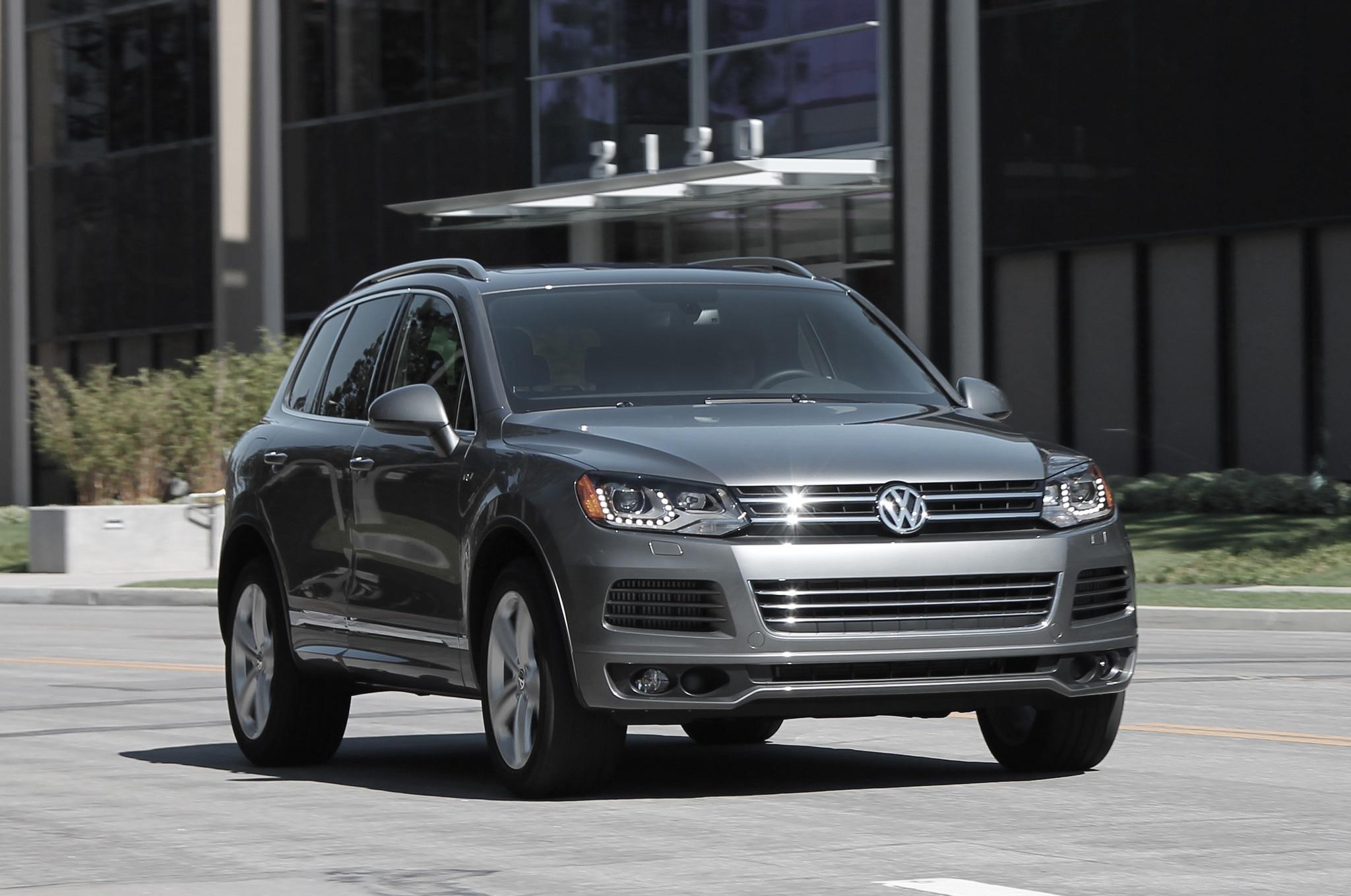 2017 Volkswagen Touareg Tdi R Line First Test