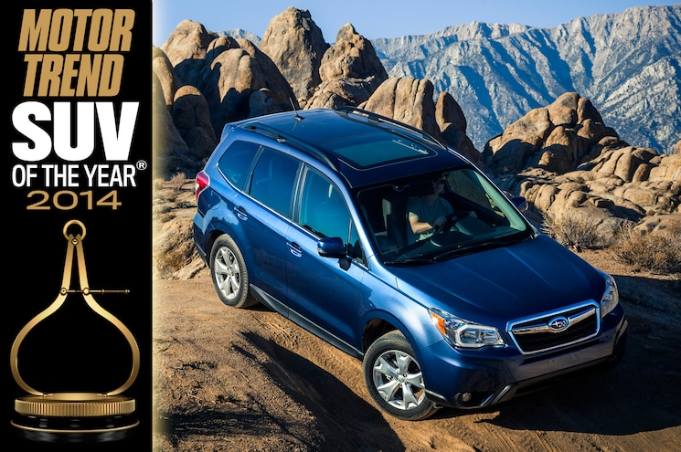 2014 Motor Trend SUV of the Year: Subaru Forester