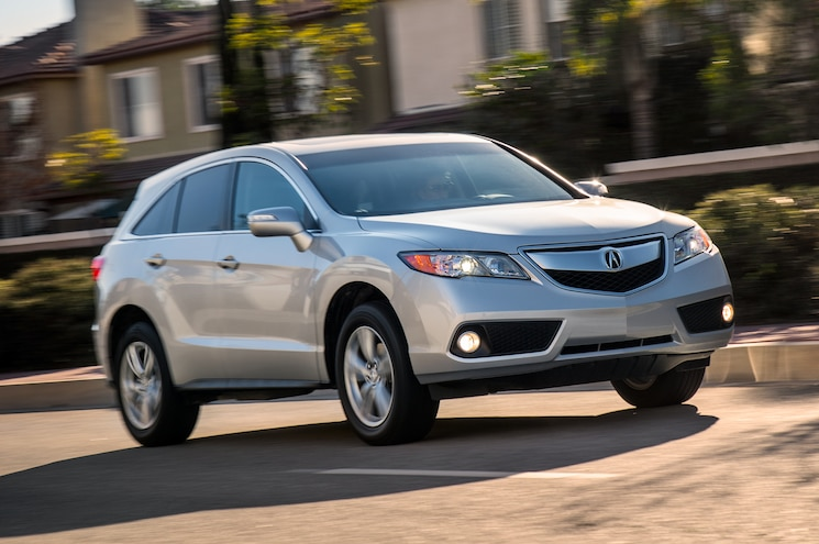 2013 Acura RDX Three Quarter Front View 004