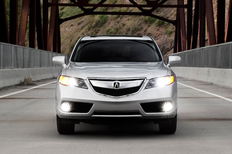2013 Acura RDX Front View
