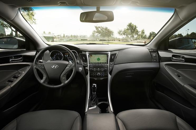 2014 Hyundai Sonata Full Dash