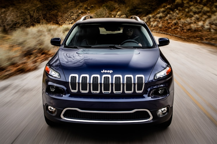 2014 Jeep Cherokee Limited Front End 1