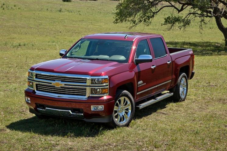2014 Chevrolet Silverado High Country Front Three Quarters