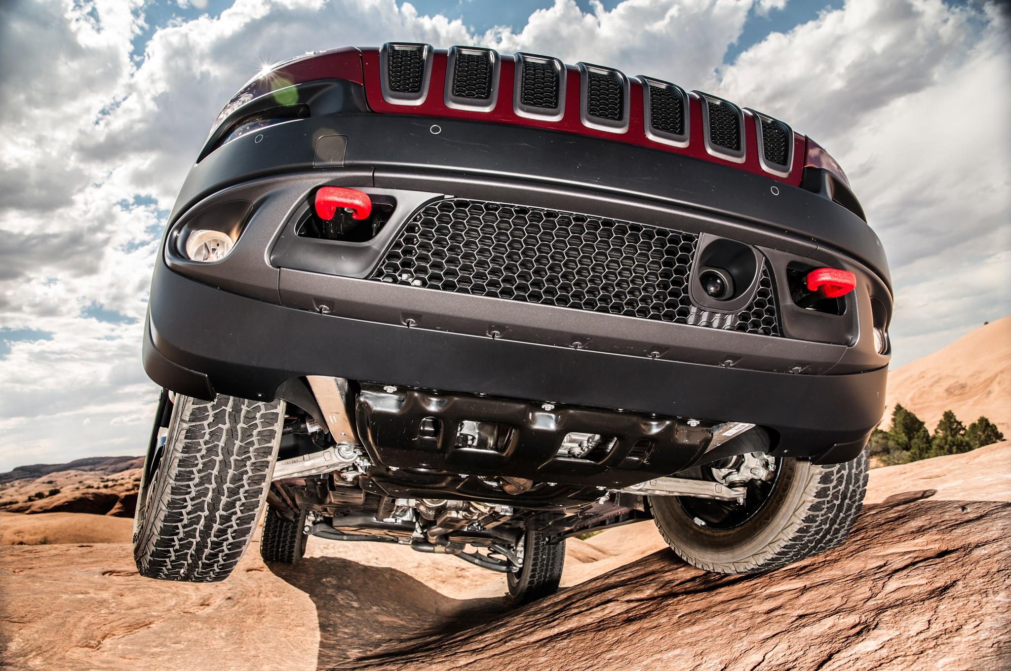 2014 Jeep Cherokee TrailHawk Under Side