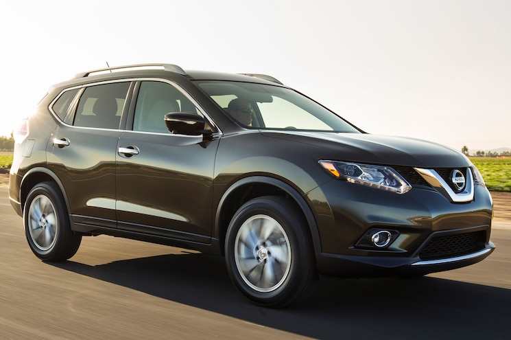 2014 Nissan Rogue Front Right Side1