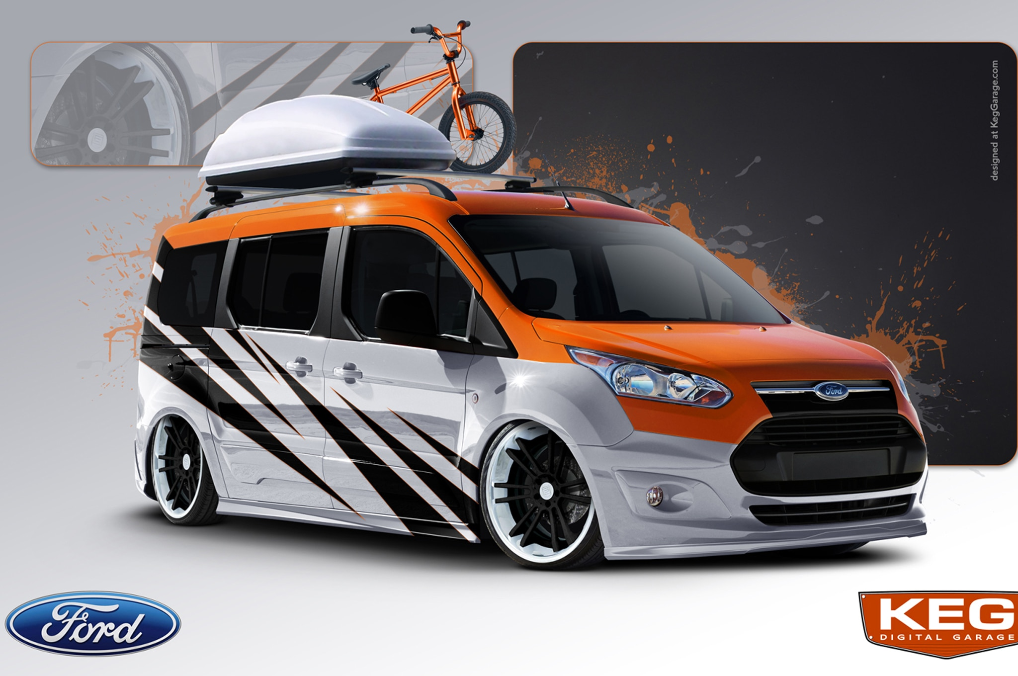 2014 Ford Transit Connect Strange Motion Concept