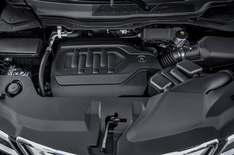 2014 Acura MDX SH AWD Engine View