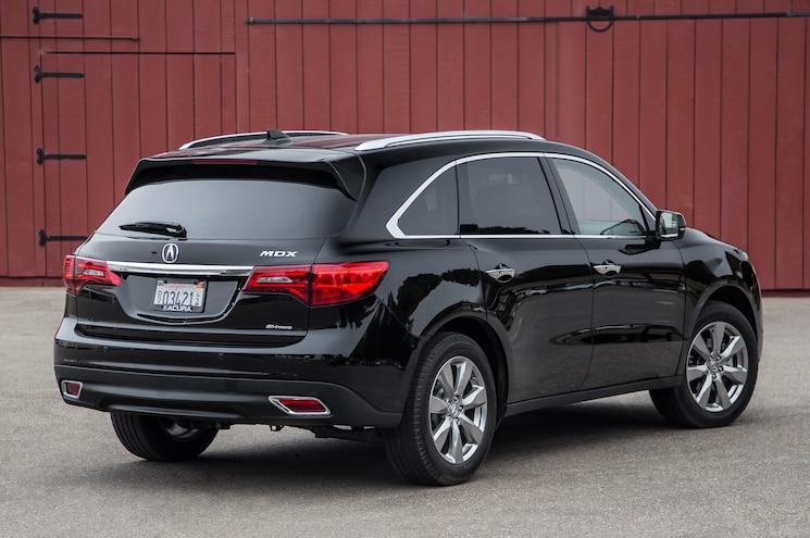 2014 Acura MDX SH AWD Rear View
