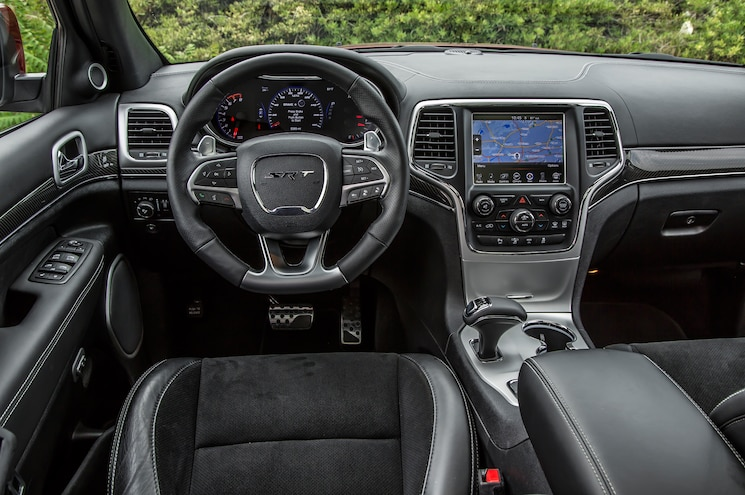 2014 Jeep Grand Cherokee SRT Dash View