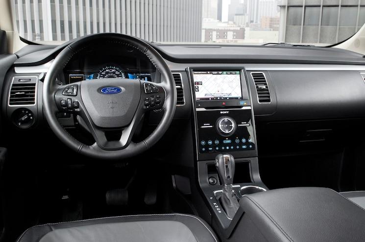 2013 Ford Flex Limited AWD Dash View
