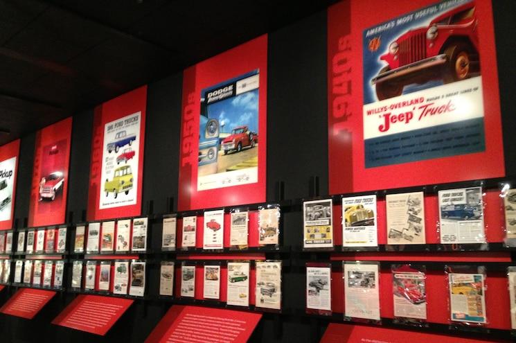 Petersen Automotive Museum Pickup Trucks Exhibit