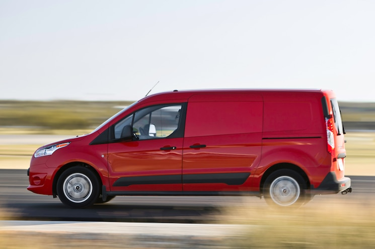 2014 Ford Transit Connect Side View