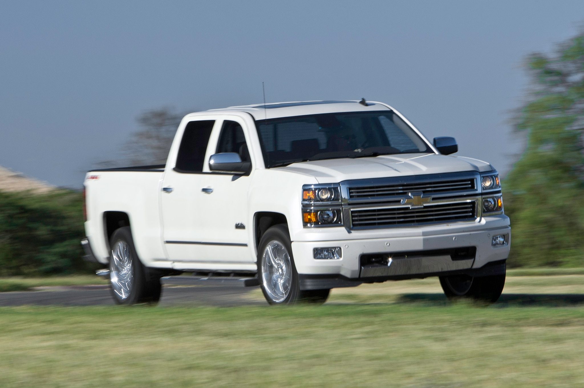 2014 Chevrolet Silverado High Country 4x4 First Test Truck Trend