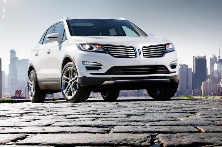 2015 Lincoln MKC Front End