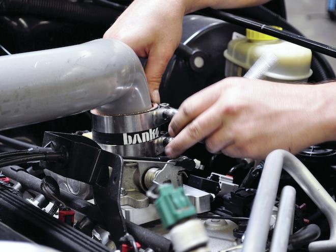 Jeep Wrangler Banks Power Sidewinder Turbo System 04