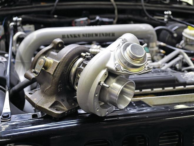 Jeep Wrangler Banks Power Sidewinder Turbo System
