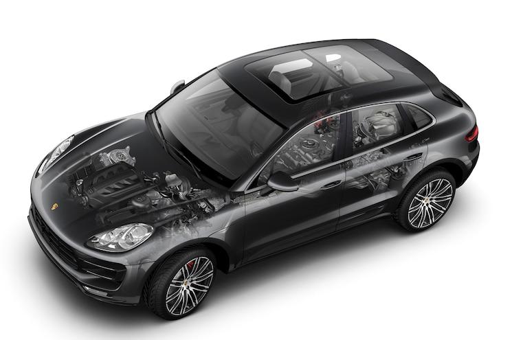 2015 Porsche Macan Engine Chassis