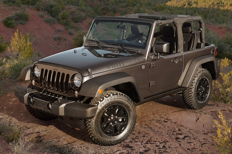 2014 Jeep Wrangler Willys Wheeler Edition Honors Brand's Past