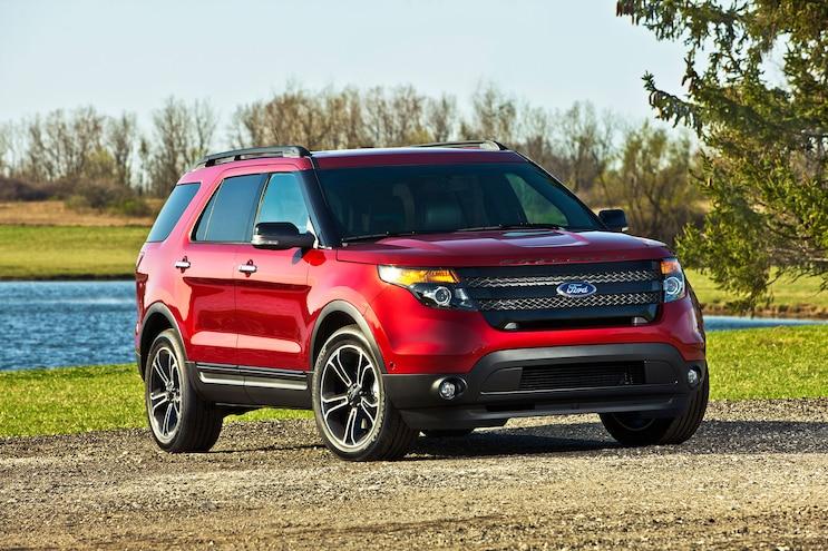 2014 Ford Explorer Sport Front Three Quarters