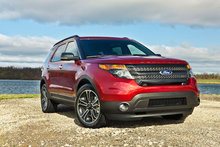 2014 Ford Explorer Sport Front View 1