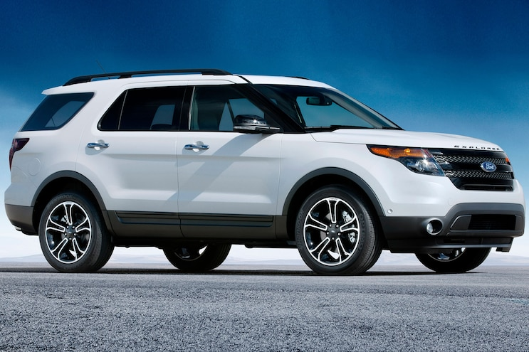 2014 Ford Explorer Sport Passenger Side