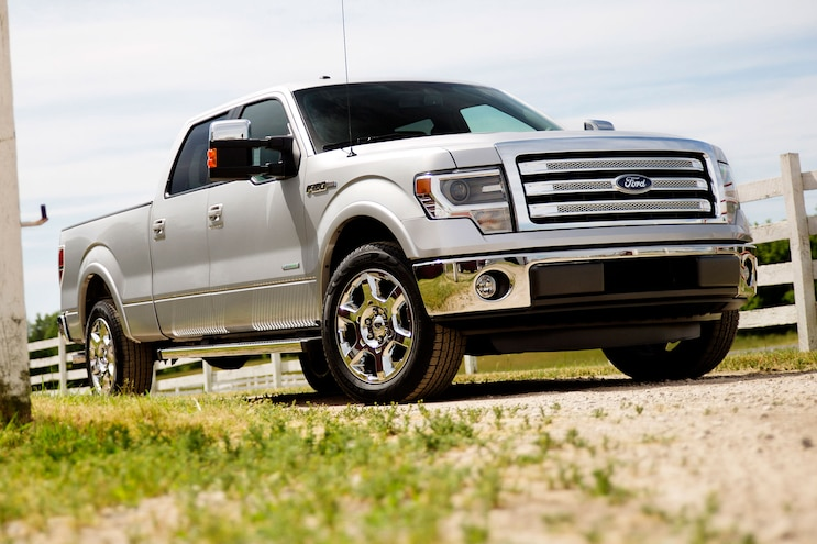 2014 Ford F 150 Lariat Front Passsengers Side Low