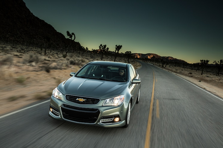 2014 Chevrolet SS Front End In Motion 03