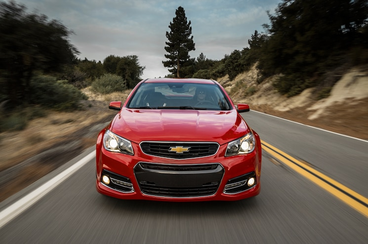 2014 Chevrolet SS Red Front End In Motion