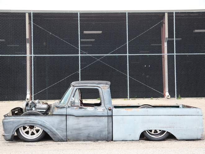 Busted Knuckles - 1964 Ford F-100 - Slammed And Sentimental