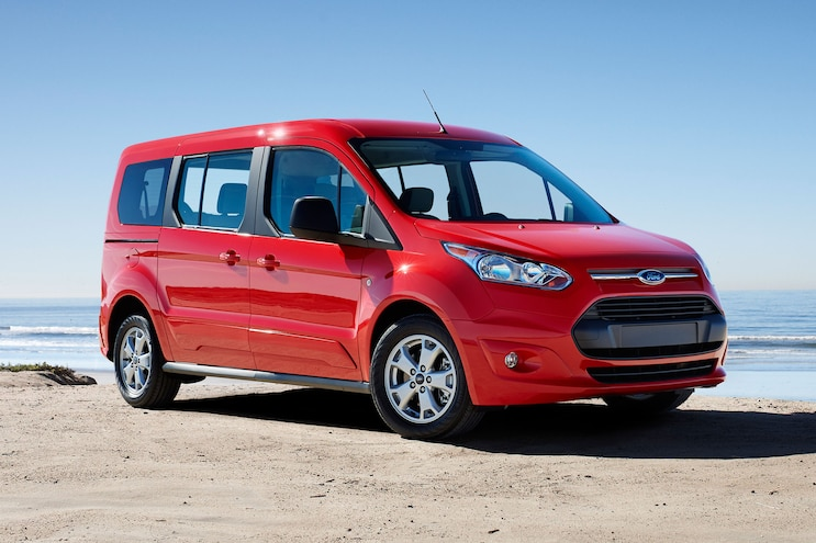 2014 Ford Transit Connect Wagon Front Passengers View