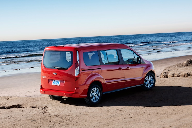 2014 Ford Transit Connect Wagon Passengers Side