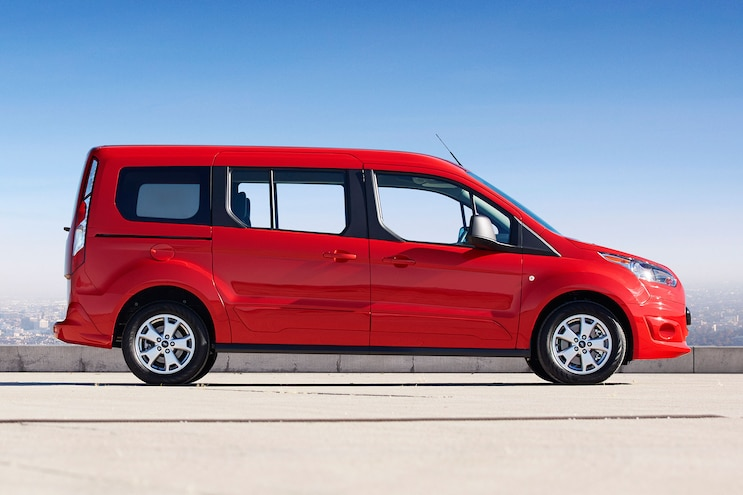 2014 Ford Transit Connect Wagon Profile Passengers Side