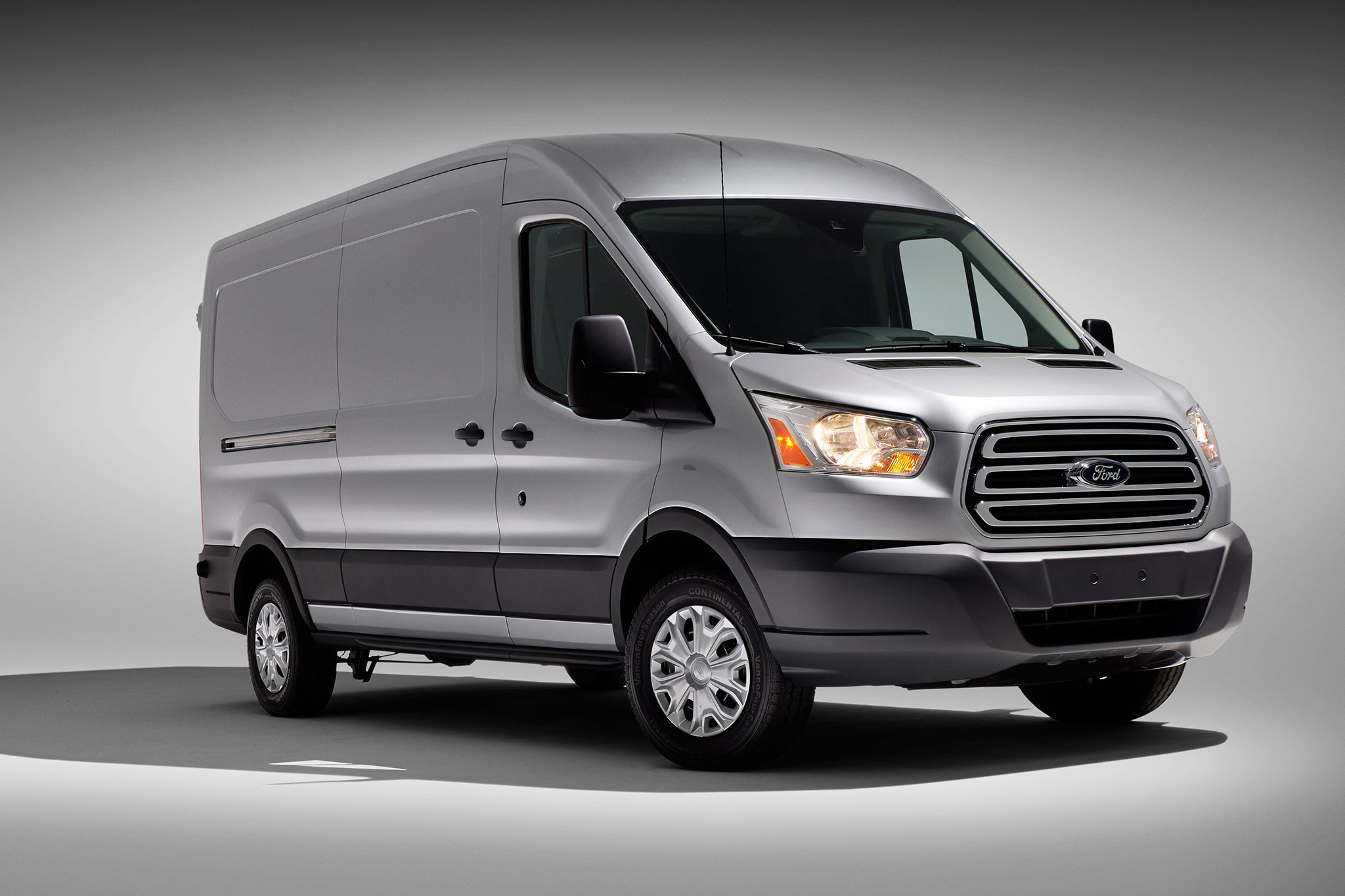 2014 Ford Transit Three Quarters View