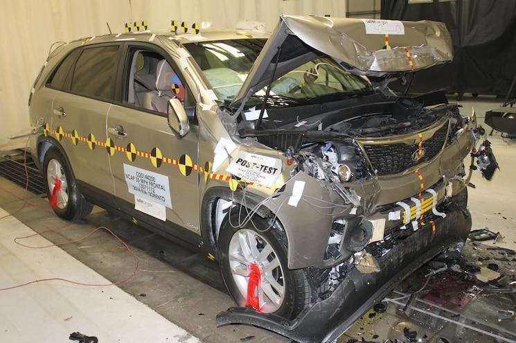 2014 Kia Sorento AWD NHTSA Front Test