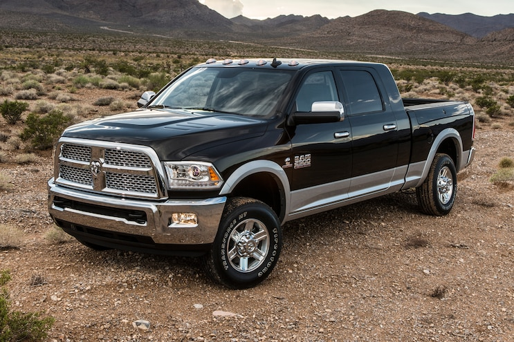 2013 Ram 2500 Heavy Duty Front Drivers Three Quarters