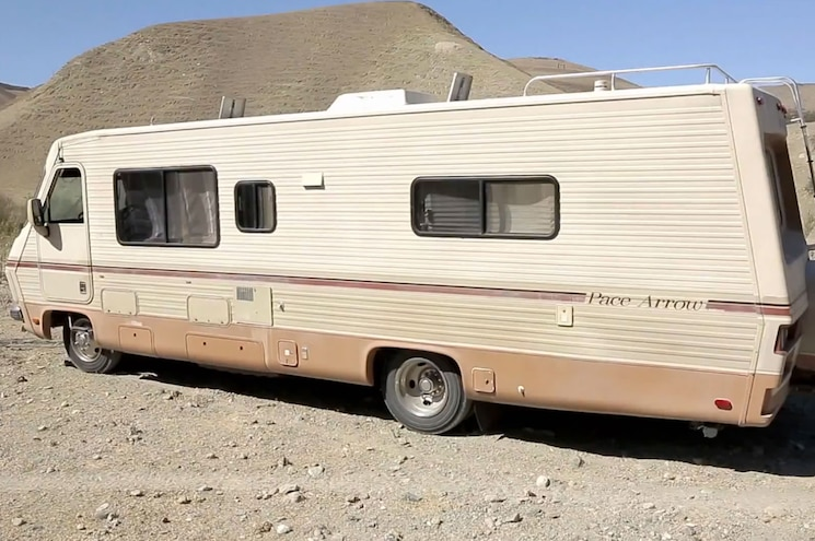 1986 Pace Arrow RV Left Rear View