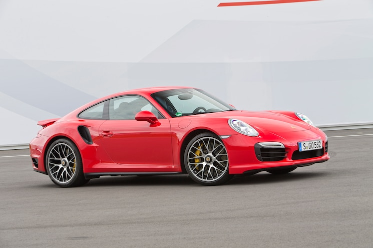 2014 Porsche 911 Turbo Front Three Quarters