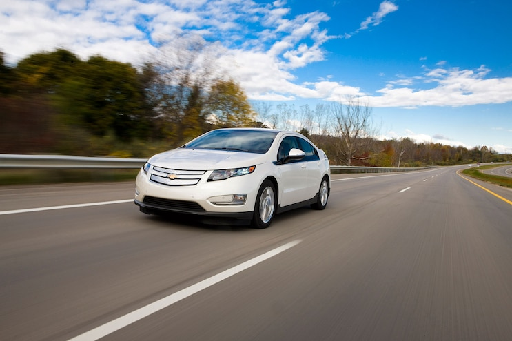 2014 Chevrolet Volt Front Drivers In Motion