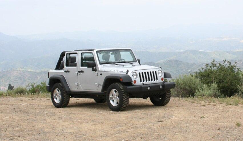 Jeep Wrangler Recalled for Steering Wheel Clockspring