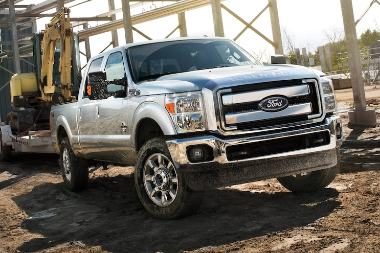 Ford Super Duty Thefts Up in Denver Area