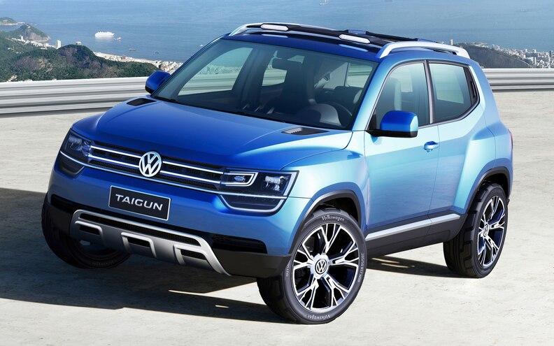 Volkswagen Taigun Concept Crossover Front View