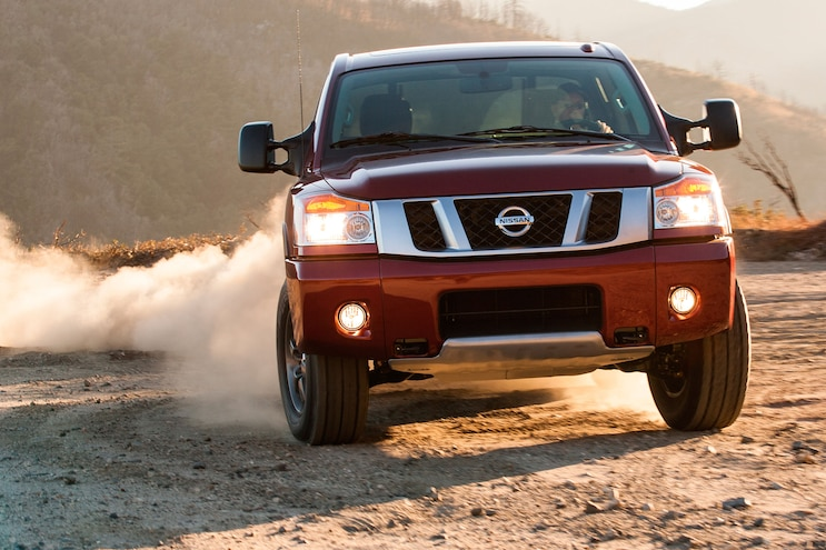 2014 Nissan Titan Side View
