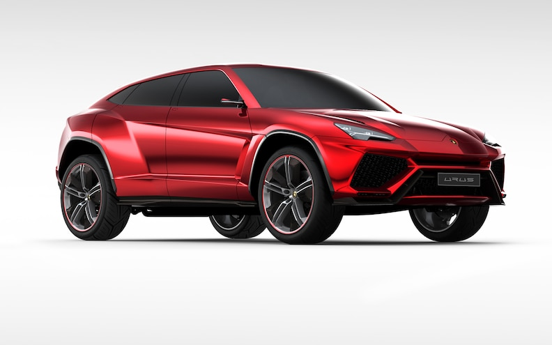 Lamborghini Urus V-8 to Be Unique to SUV, Not Shared With Sports Cars