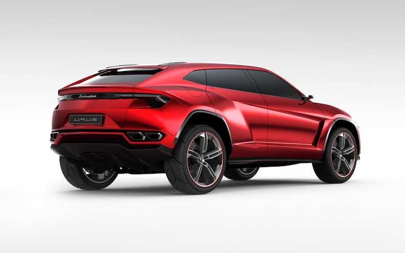 Lamborghini Urus Concept Rear Right Side View