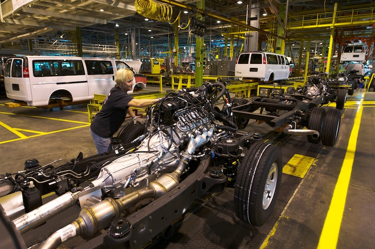 GM Wentzville Assembly Line